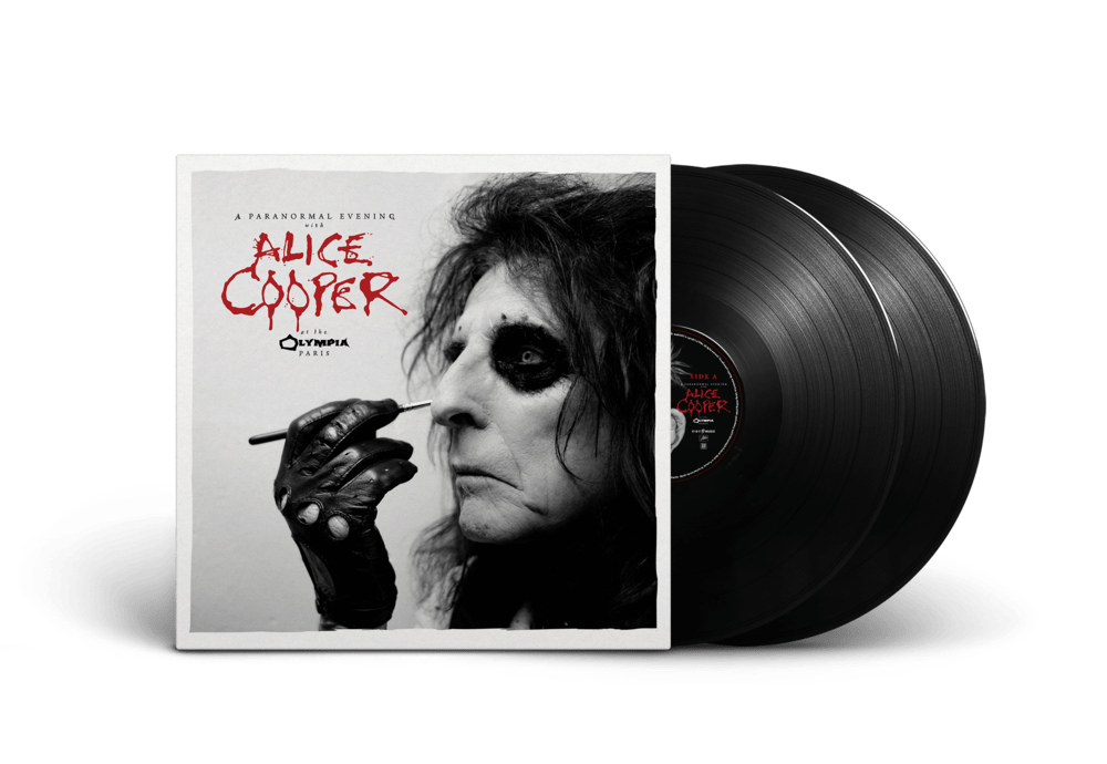 Buy Online Alice Cooper - A Paranormal Evening At The Olympia Paris (Black 2LP)