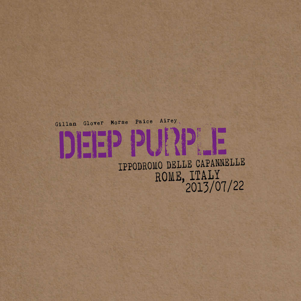 Buy Online Deep Purple - Live In Rome 2013 (Digipak)