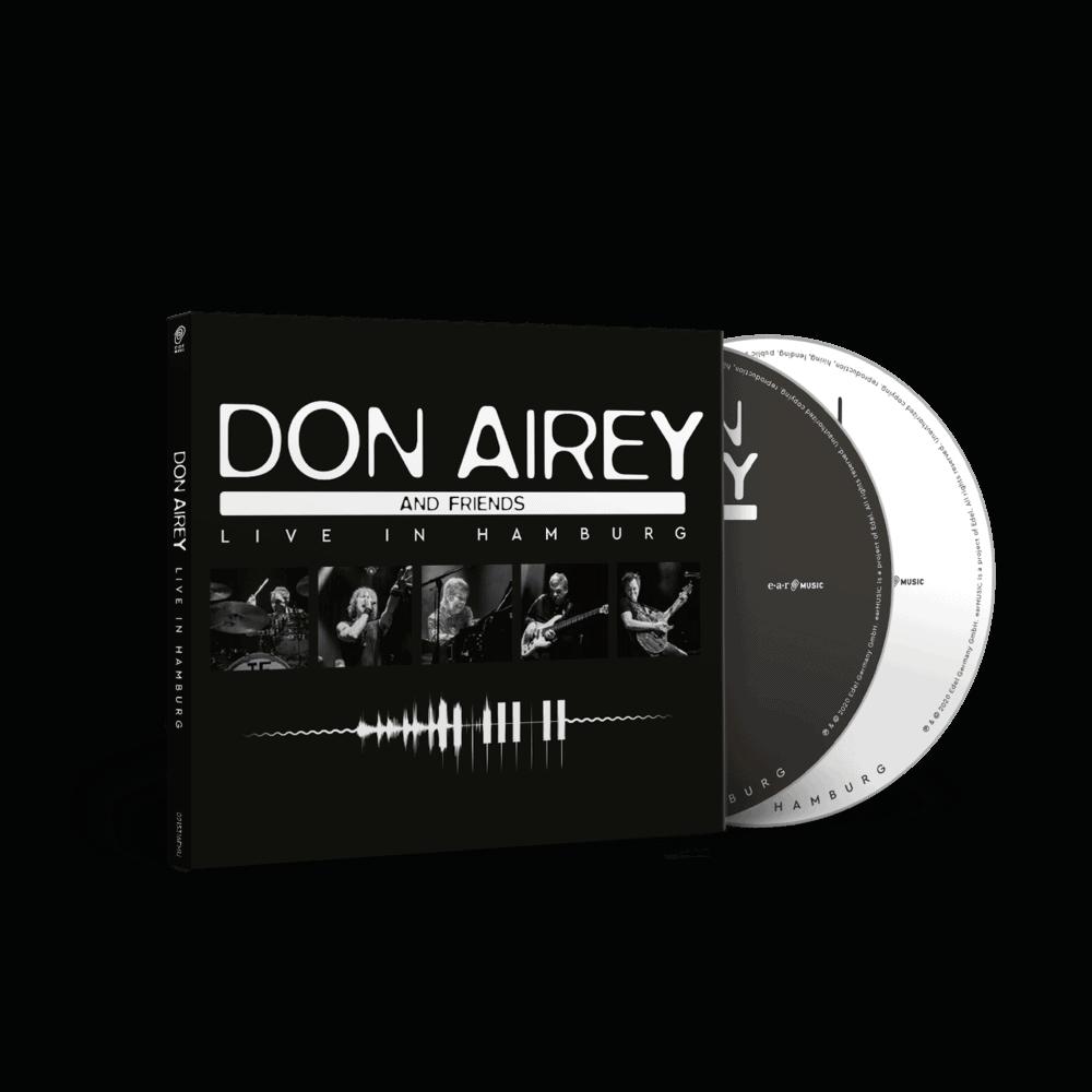 Buy Online Don Airey - Live In Hamburg (2CD Digipak Edition)