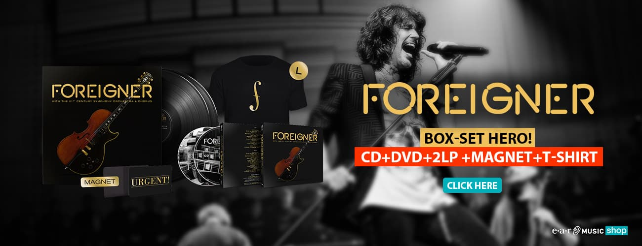 Foreigner Box-Set
