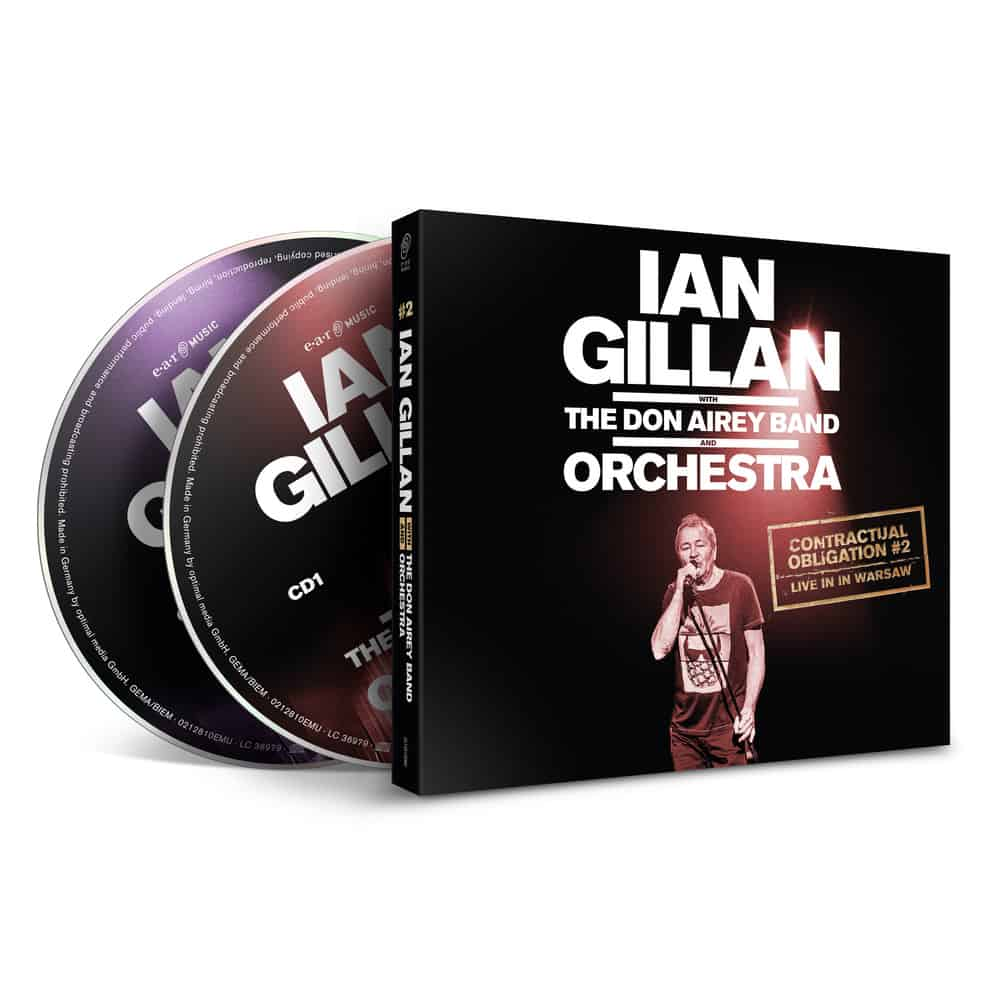 Buy Online Ian Gillan - Contractual Obligation Double CD
