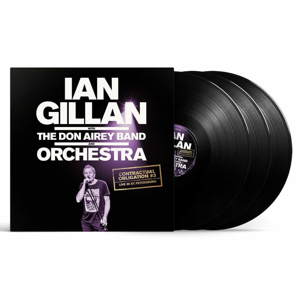 Buy Online Ian Gillan - CONTRACTUAL OBLIGATION Triple Vinyl