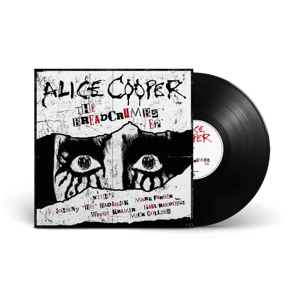 """Buy Online Alice Cooper - BREADCRUMBS (Ltd. Edition 10"""" Vinyl + Download)"""