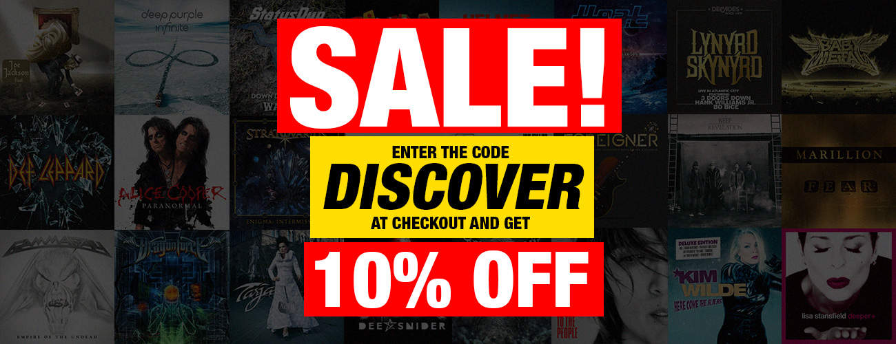 Discover 10% Sale Slide