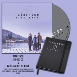 Buy Online Easy Life Records - Open Book CD Album (Signed) w/ Handwritten Fatherson Lyric Book
