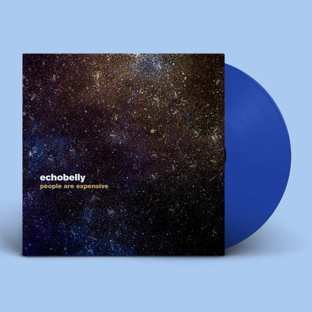 Buy Online Echobelly - People Are Expensive - Signed Blue LP