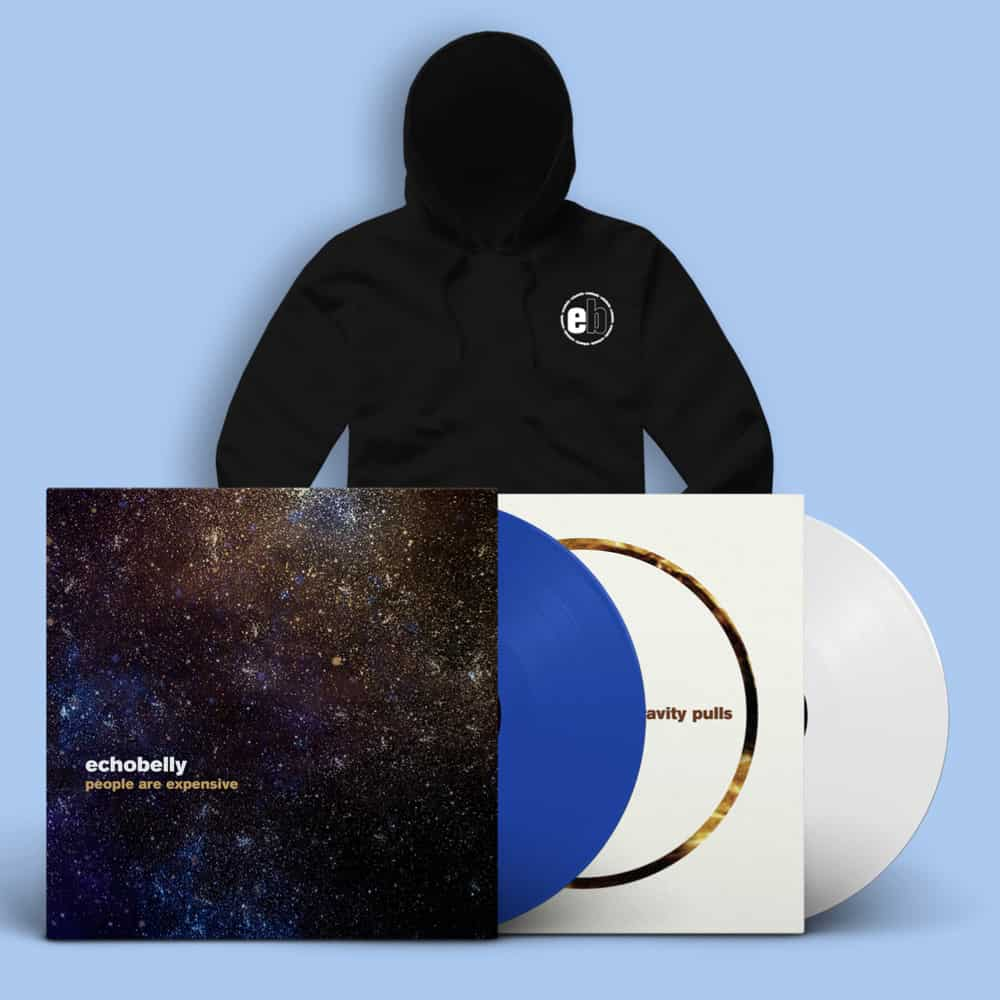 People Are Expensive & Gravity Pulls Signed Vinyl LPs + Hoodie
