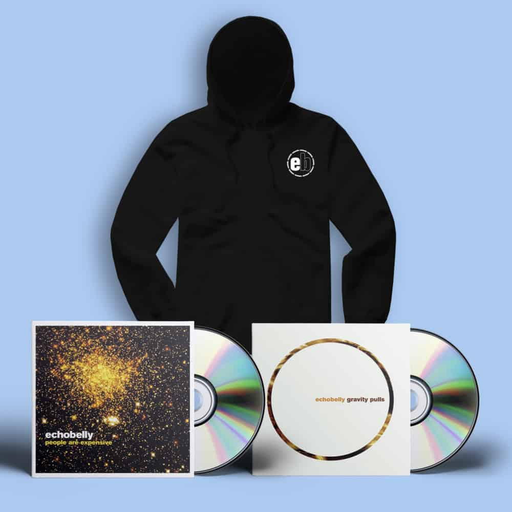 Buy Online Echobelly - People Are Expensive & Gravity Pulls CDs + Hoodie