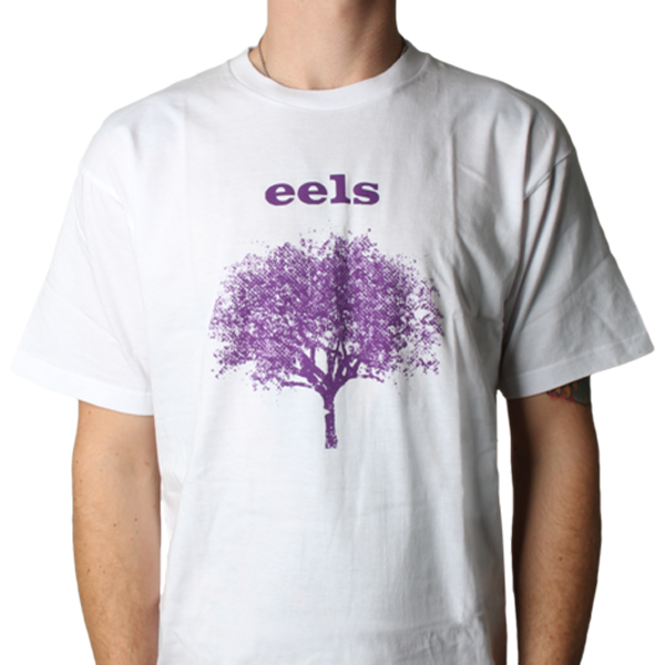 Buy Online Eels - Mens Tomorrow Morning White T-Shirt