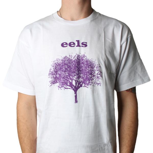 Buy Online Eels - Mens Tomorrow Morning White T-Shirt