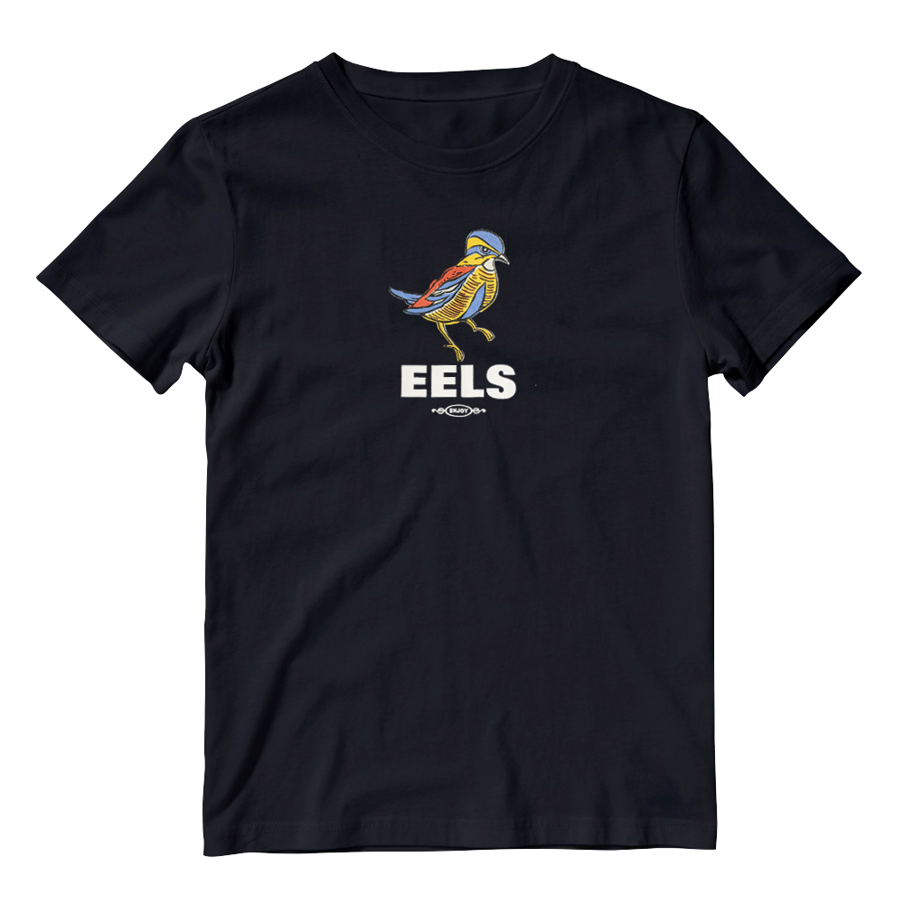 Buy Online Eels - Mens Black Enjoy T-Shirt