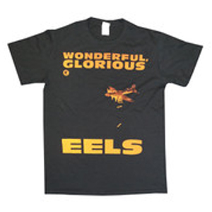 Buy Online Eels - Mens Black Wonderful, Glorious Eels T-Shirt