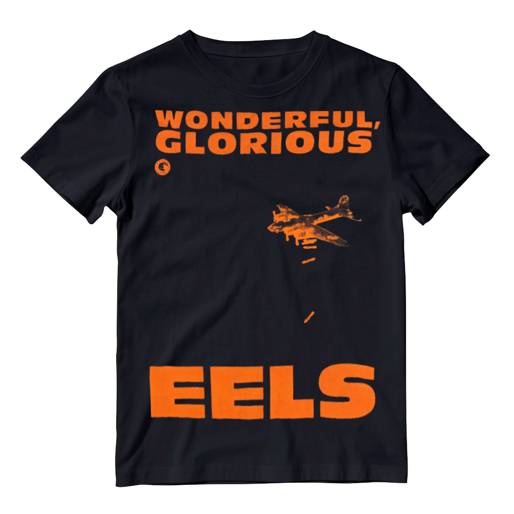 Buy Online Eels - Mens Black Wonderful, Glorious Eels T-Shirt