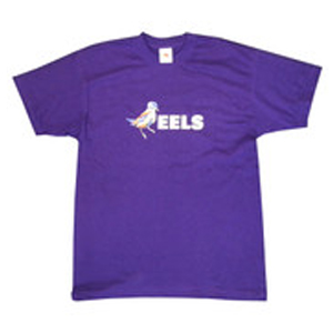 Buy Online Eels - Mens Purple Bird T-Shirt