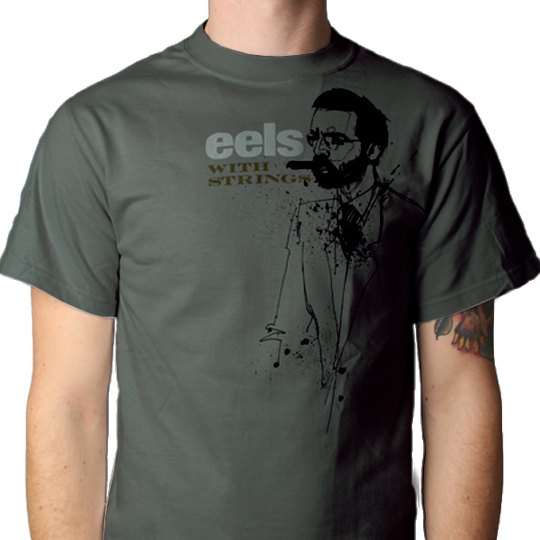 Buy Online Eels - Mens Dark Green Cubano T-Shirt