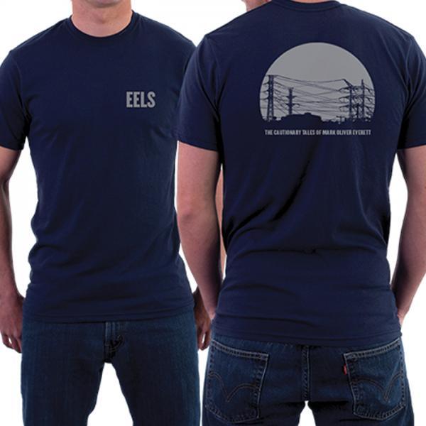 Buy Online Eels - Mens Phone Lines T-Shirt