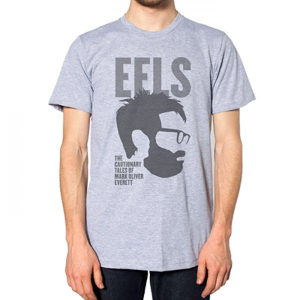 Buy Online Eels - Mens Grey Face T-Shirt