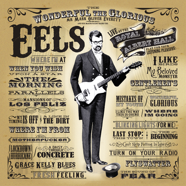 Buy Online Eels - Royal Albert Hall Lithograph
