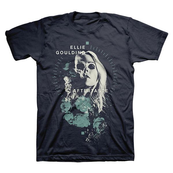 Buy Online Ellie Goulding - Aftertaste T-Shirt