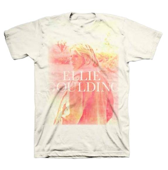Buy Online Ellie Goulding - Sunset Photo T-Shirt