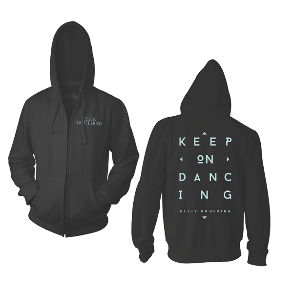 Buy Online Ellie Goulding - Keep On Dancing Zip Hoodie