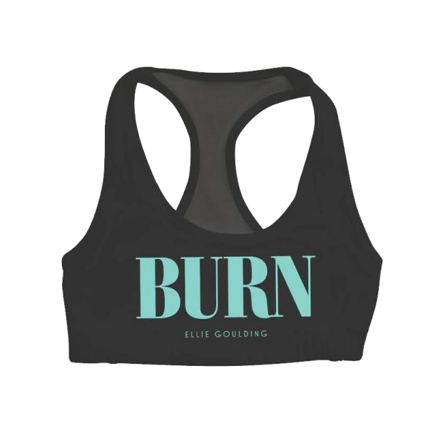 Buy Online Ellie Goulding - Burn Mesh Sports Bra