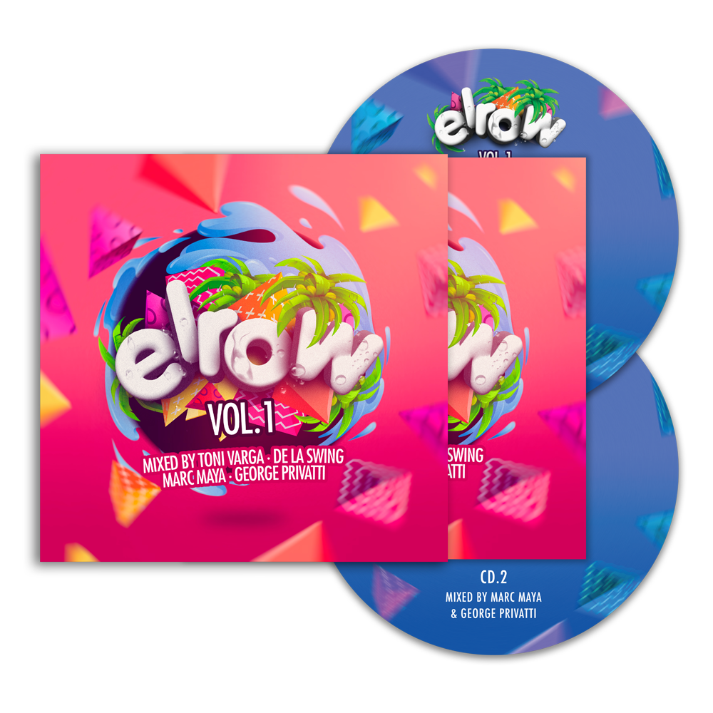 Buy Online Elrow - elrow Vol. 1 (Mixed By Toni Varga, De La Swing, Marc Maya and George Privatti)