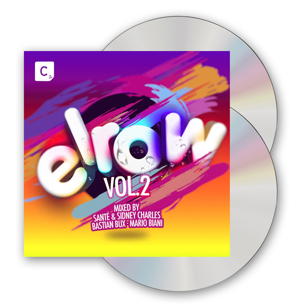 Buy Online elrow - elrow Vol. 2 (Mixed By Santé & Sidney Charles, Bastian Bux, Mario Biani) 2CD Album
