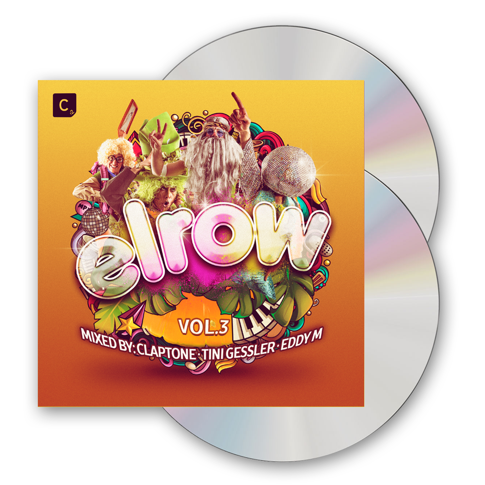 Buy Online Elrow - elrow Vol. 3 (Mixed By Claptone, Tini Gessler & Eddy M)
