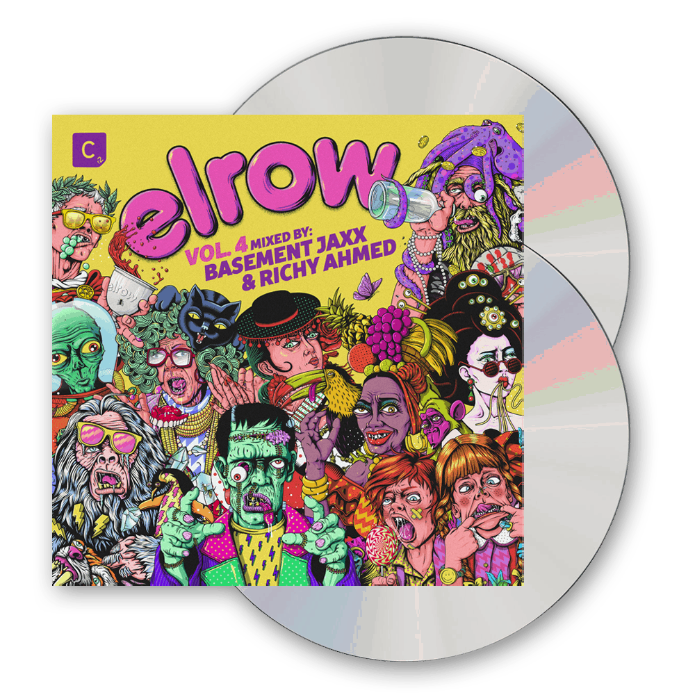 Buy Online Elrow - elrow Vol. 4 (Mixed by Basement Jaxx & Richy Ahmed) 2CD Album