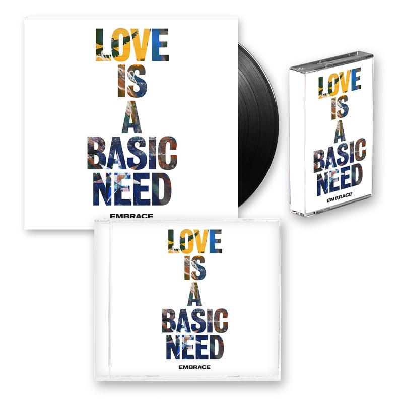 Buy Online Embrace - Love Is A Basic Need Album Bundle