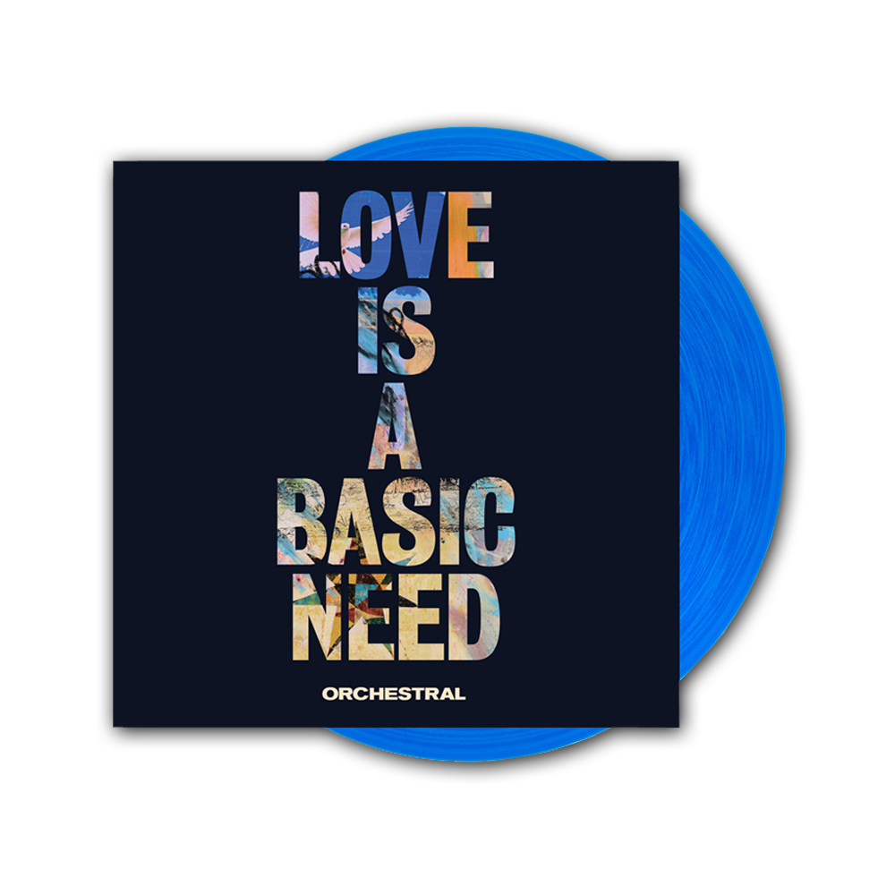 Buy Online Embrace - Love Is A Basic Need: Orchestral Ltd Edition Coloured Vinyl LP (Signed)