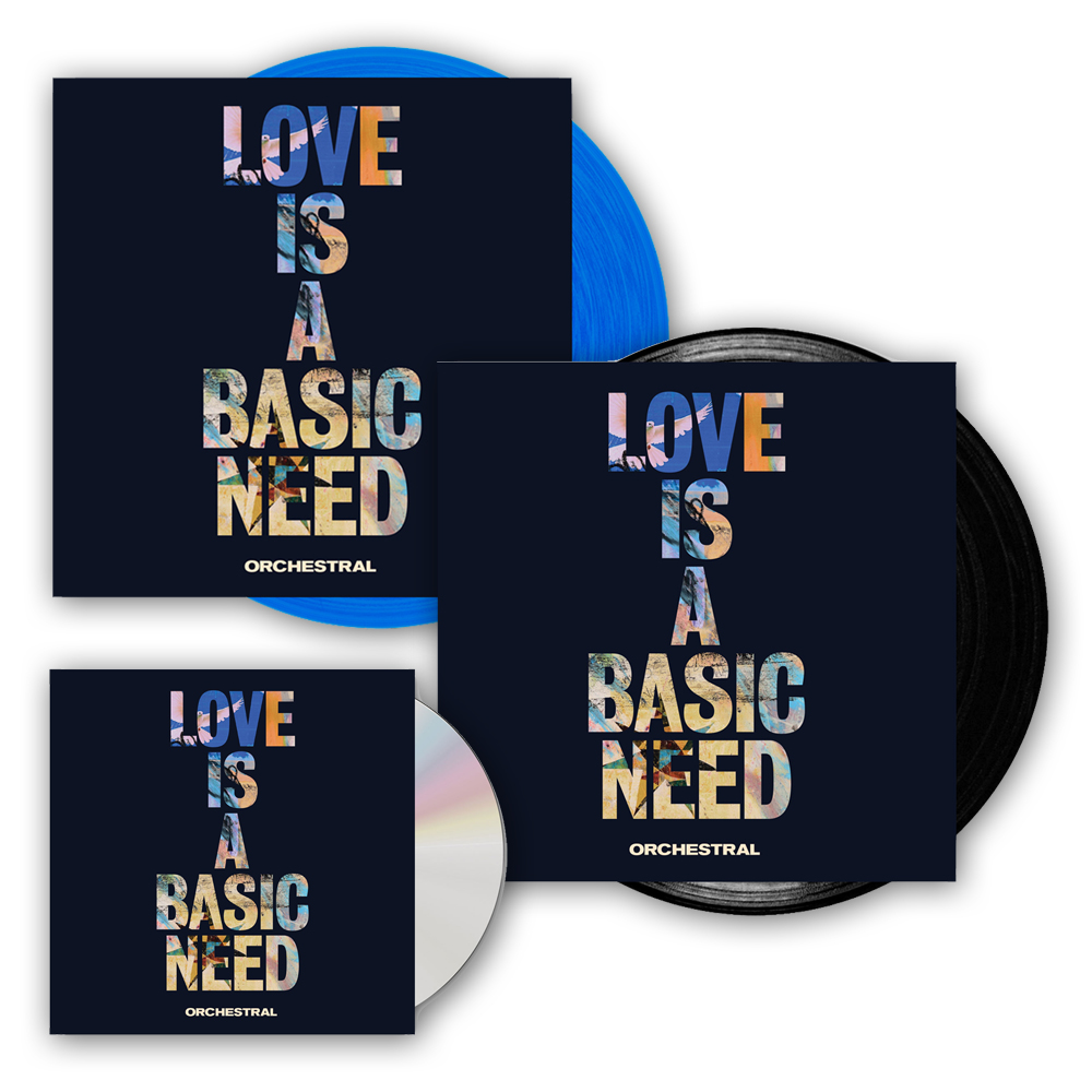 Buy Online Embrace - Love Is A Basic Need: Orchestral Album Bundle (Signed)