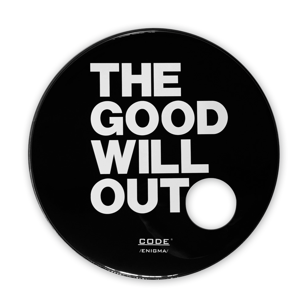 Buy Online Embrace - The Good Will Out Live - Tour Drum Skin