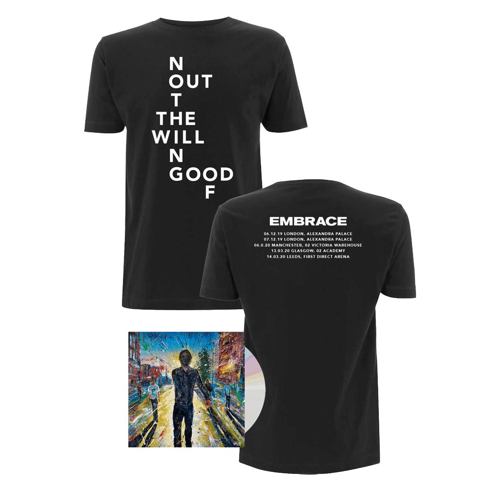 Buy Online Embrace - The Good Will Out / Out Of Nothing Event Shirt + Live CD Album