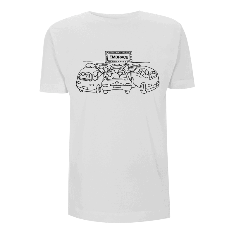 Buy Online Embrace - Drive In T-Shirt (White)