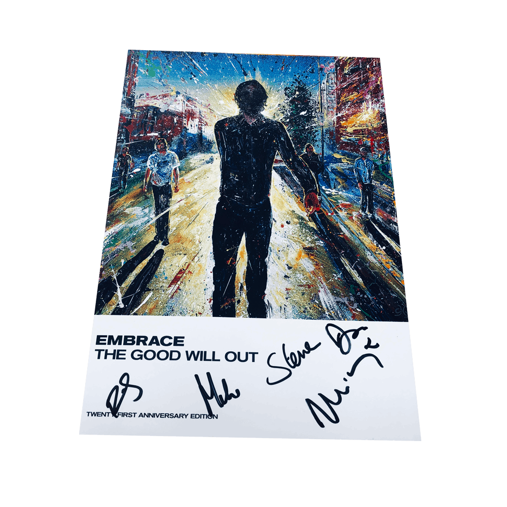 Buy Online Embrace - Tour Programme (Signed)
