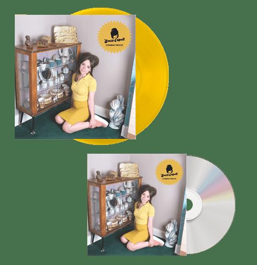 Buy Online Emily Capell - Combat Frock CD + Sherbet Lemon LP + Mini Comic Bundle