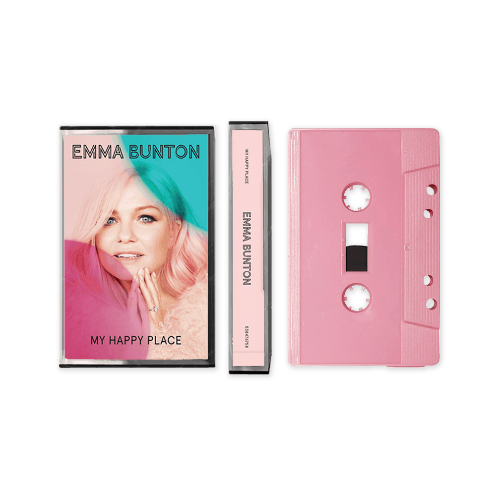 Buy Online Emma Bunton - My Happy Place Pink Cassette (Exclusive)