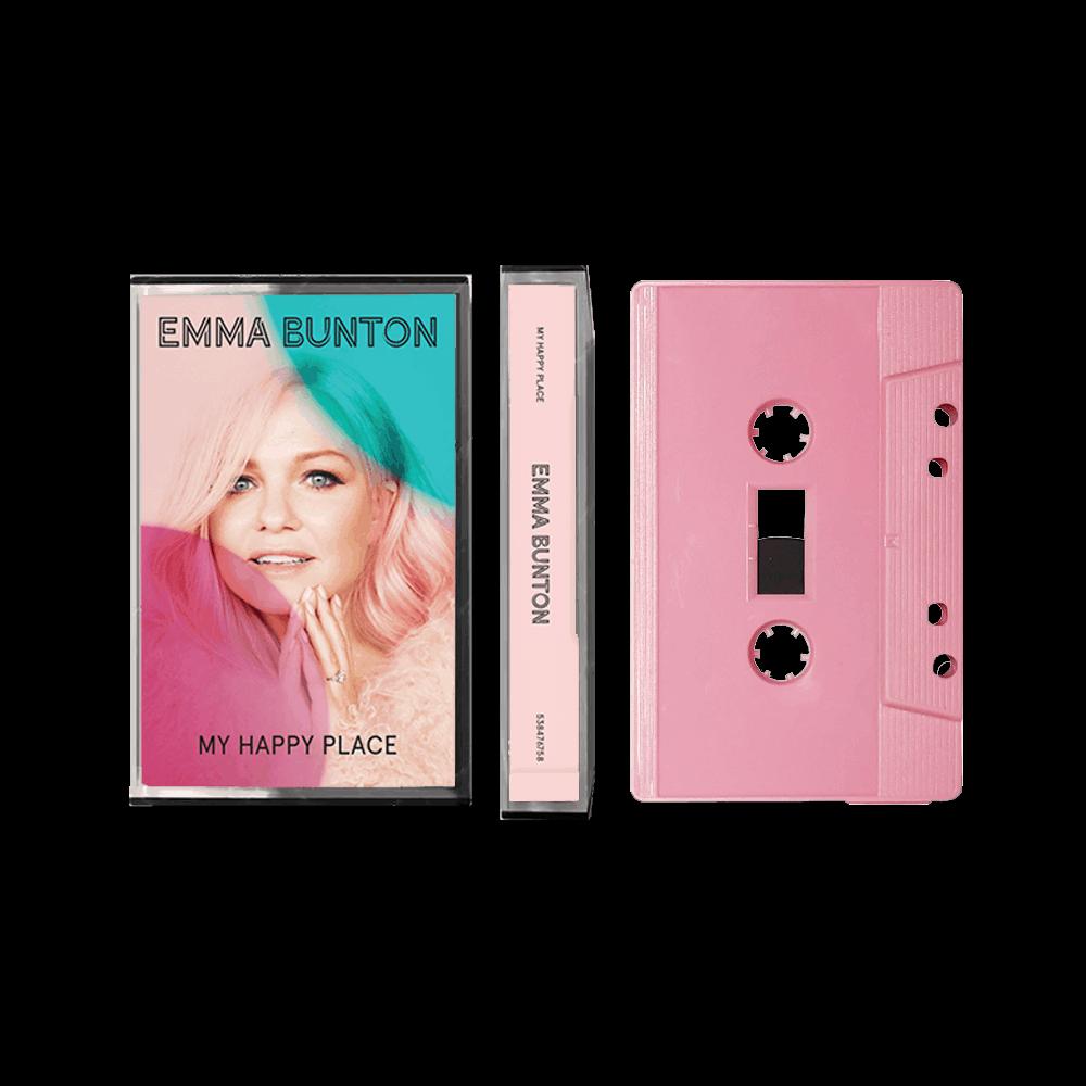 Buy Online Emma Bunton - My Happy Place Pink Cassette (Exclusive)