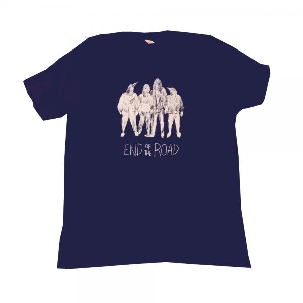Buy Online End Of The Road Festival - 2016 Navy Ramones T-Shirt