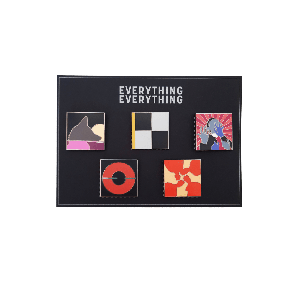 Buy Online Everything Everything - Set of 5 Badges