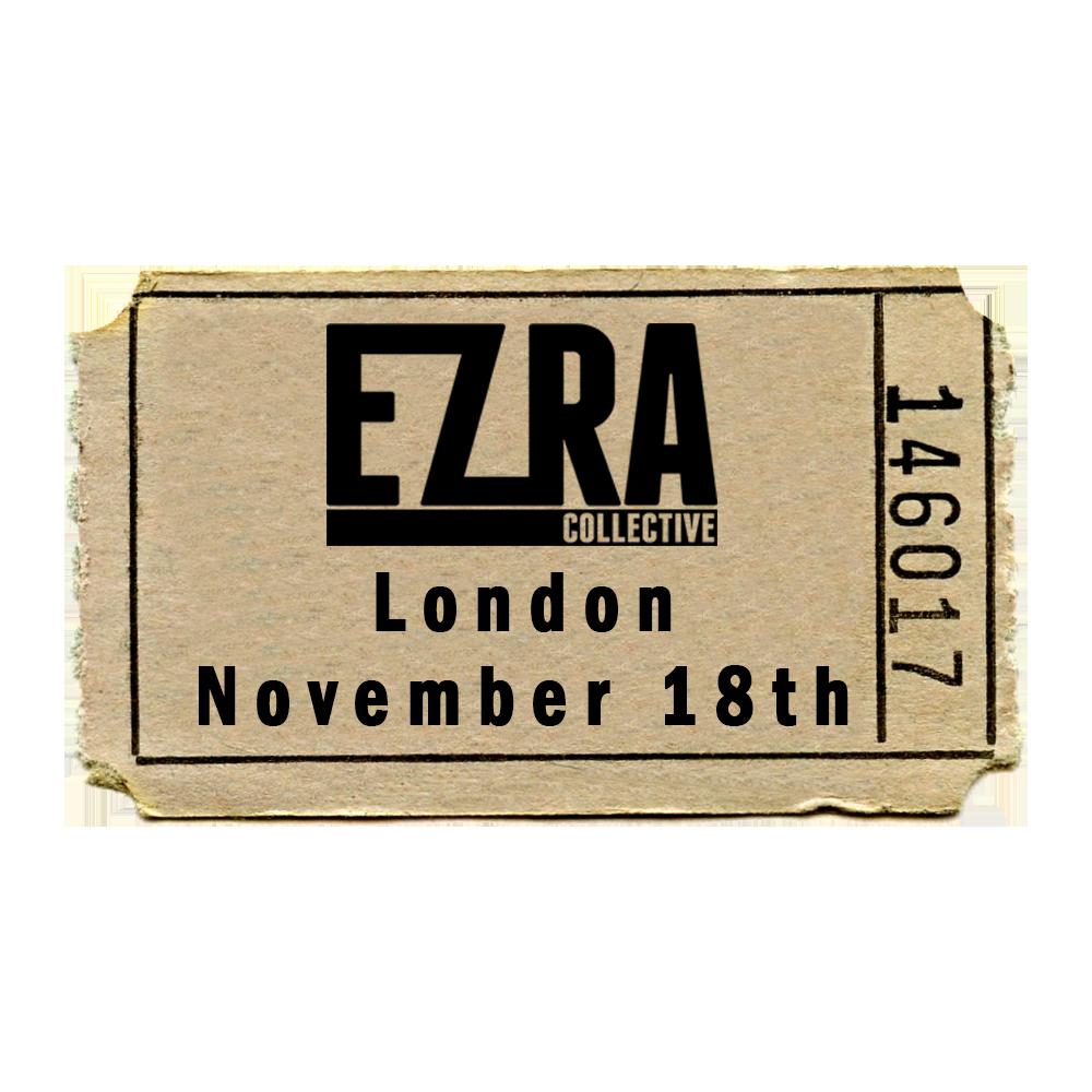 Buy Online Ezra Collective - Ezra Collective KOKO Gig Ticket