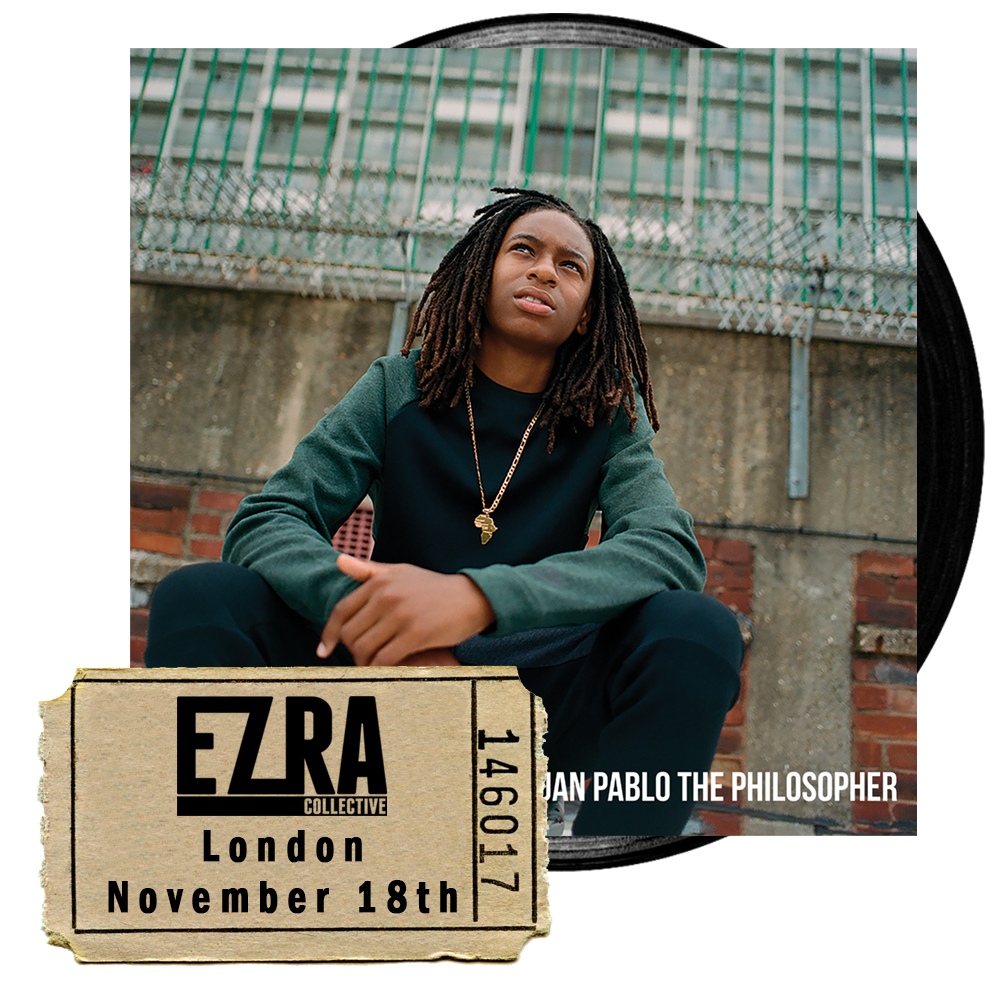 Buy Online Ezra Collective - Juan Pablo: The Philosopher Vinyl & KOKO Gig Ticket