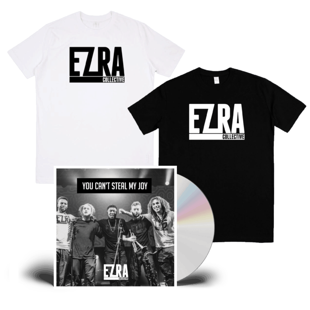 Buy Online Ezra Collective - You Can't Steal My Joy CD + T-Shirt