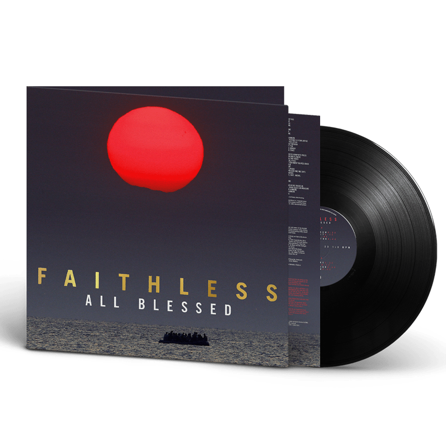 Buy Online Faithless - All Blessed Limited Edition Heavyweight Gatefold Vinyl with Gold Foil Branding