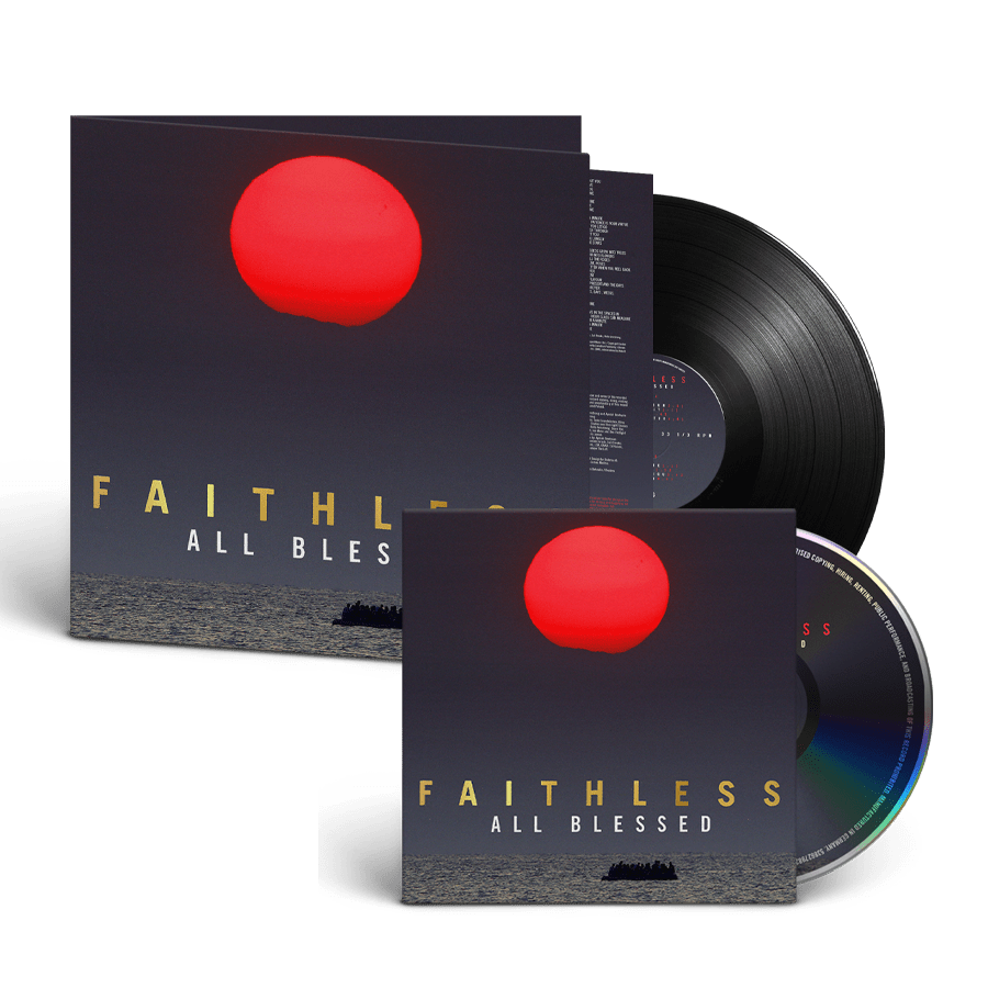 Buy Online Faithless - All Blessed CD (Signed) + Heavyweight Gatefold Vinyl (Signed)