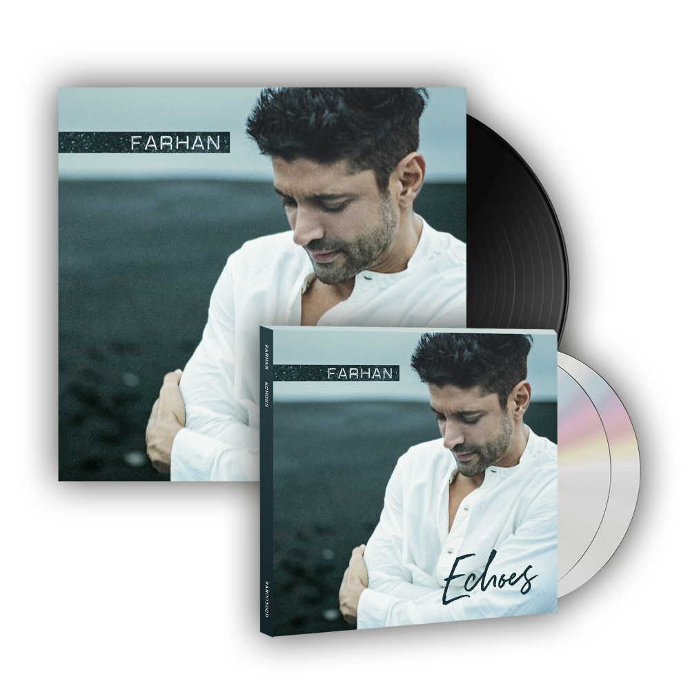 Buy Online Farhan - Echoes CD/DVD + Vinyl (Ltd Edition)