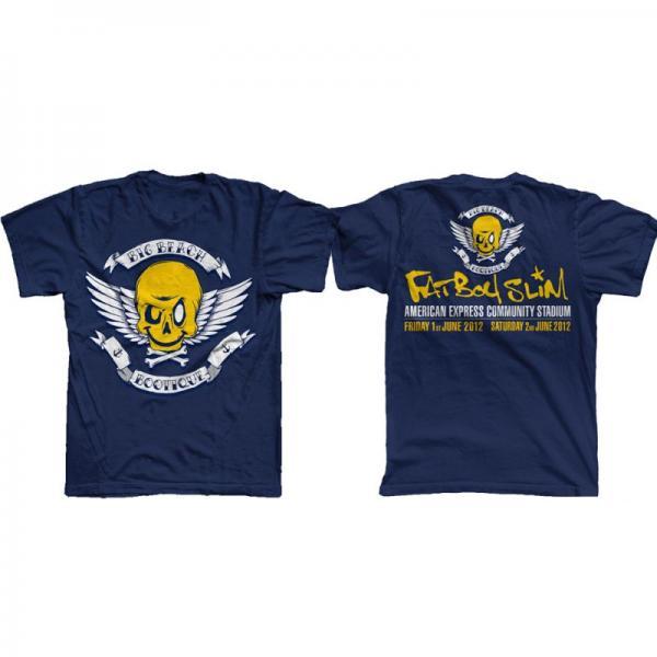 Buy Online Fatboy Slim - Big Beach Bootique Exclusive Blue T-Shirt