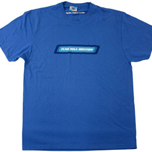 Buy Online Fatboy Slim - Funk Soul Brother Blue T-Shirt